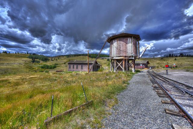 Osier Station - Cumbres & Toltec Scenic Railroad - Colorado - USA