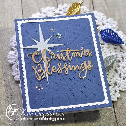 Metallic Christmas Blessings