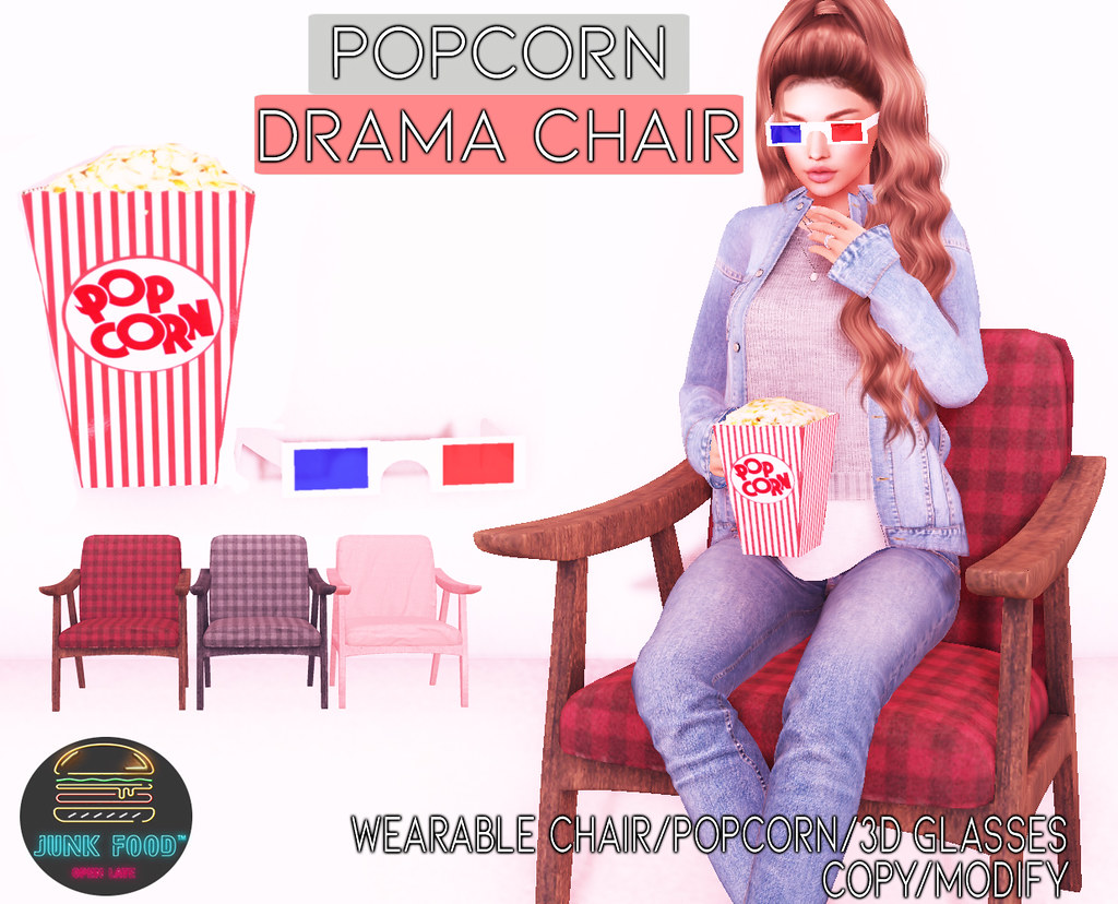Junk Food – Popcorn Drama Chair