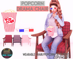 Junk Food - Popcorn Drama Chair