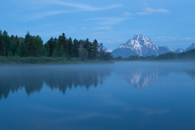 Blue Hour at Oxbow Bend