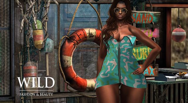 The Surreal Lyfe featuring:: WILD Fashion Devon Dress Exclusive @ On 9