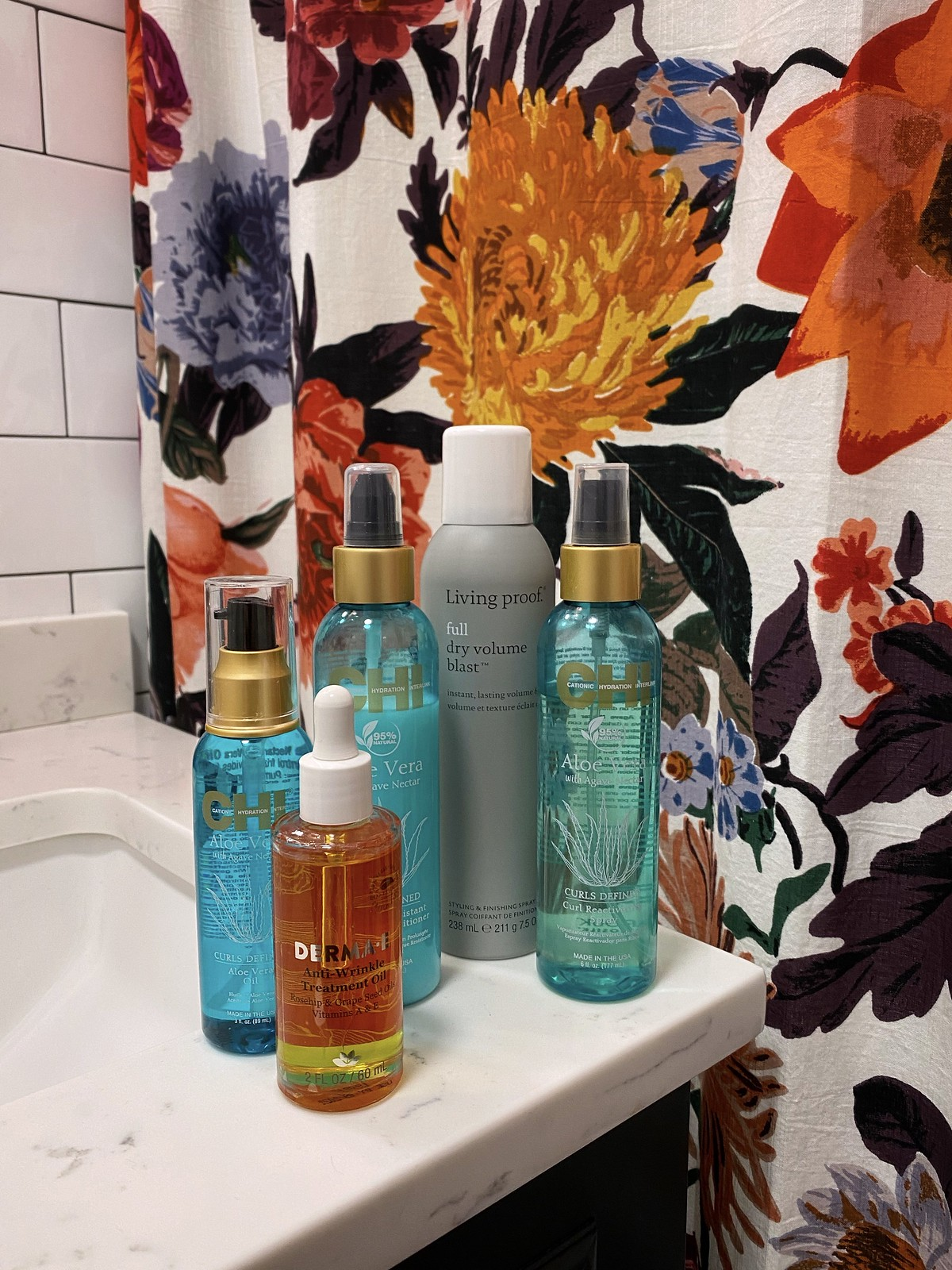 November Beauty Favorites - Chi Aloe Vera Hair Living Proof Full Dry Volume Blast Derma A Anti Wrinkle Oil