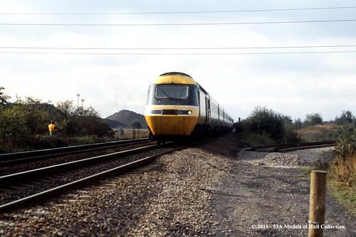 britishrail intercity125 highspeedtrain class43 diesel passenger thrybergh southyorkshire train railway locomotive railroad
