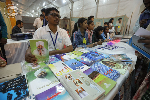 Devotees in Publication stall
