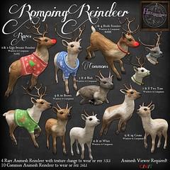 Romping Reindeer Gacha key
