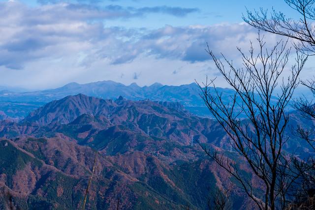 裏妙義と榛名山