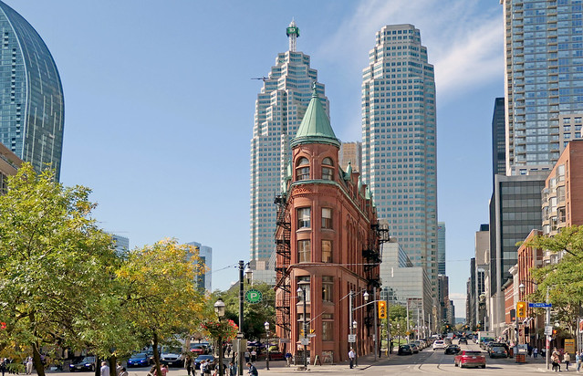 Gooderham (Flatiron) Building.Toronto.