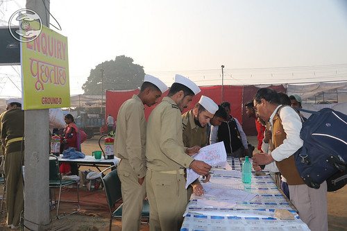 Enquiry counters at Ground