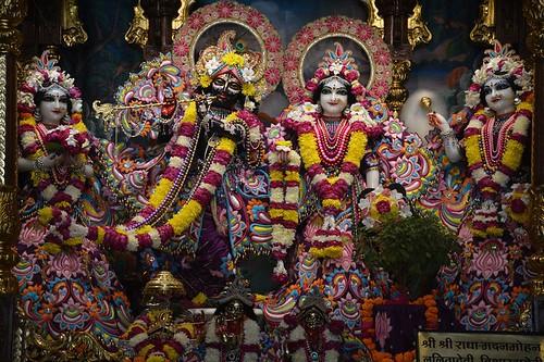 ISKCON Ujjain Deity Darshan 30 Nov 2019