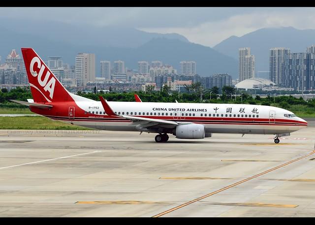 B737-89P/WL   China United Airlines   B-1752   XMN