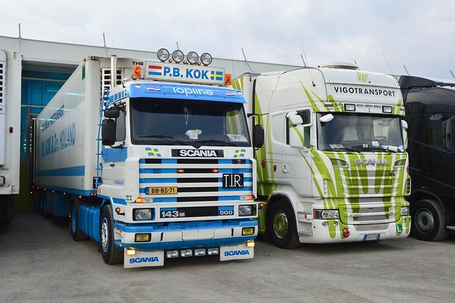 Nl & I-P.B. Kok & Vigotransport-Scania 143M 500 & Scania V8 R500 TL [Explore]