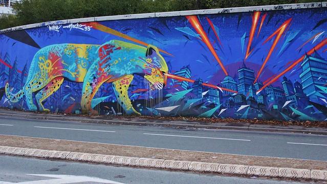 Marko 93 + Katre_7506 avenue du Général de Gaulle Saint-Denis