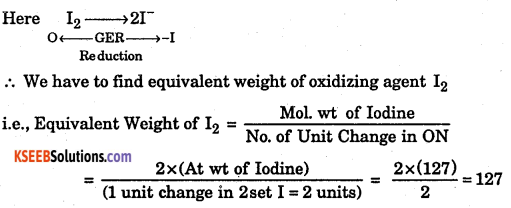 1st PUC Chemistry Question Bank Chapter 8 Redox Reactions - 26