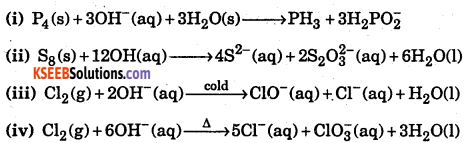 1st PUC Chemistry Question Bank Chapter 8 Redox Reactions - 67