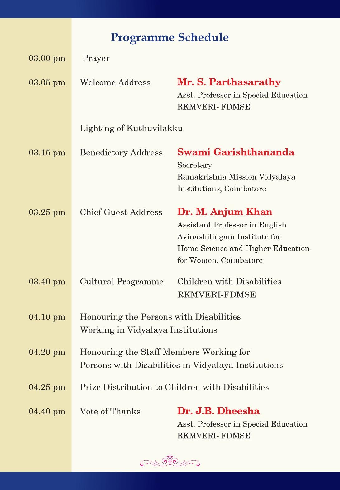 FDMSE - Invitation - International Day of PwD - Back