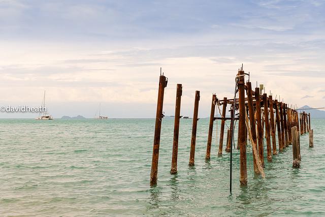 I'm Still Standing ... Thailand Pier