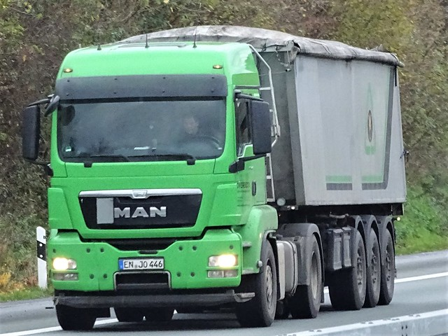 MAN TGX from Overbeeck Germany.