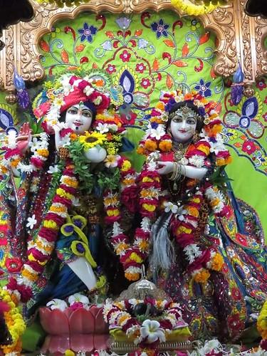 ISKCON Vallabh Vidyanagar Deity Darshan 30 Nov 2019