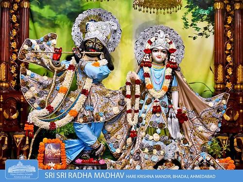 Hare Krishna Temple Ahmedabad Deity Darshan 29 Nov 2019