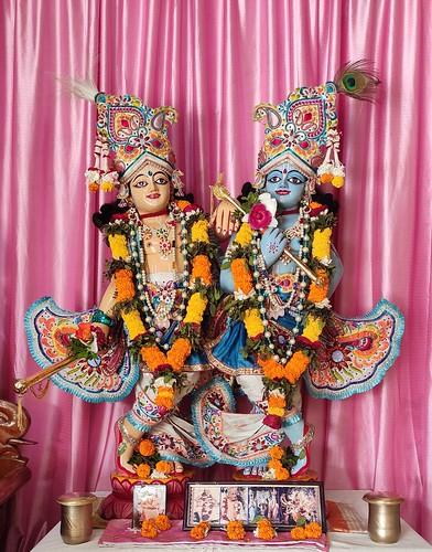 ISKCON Bhubaneswar Deity Darshan 29 Nov 2019