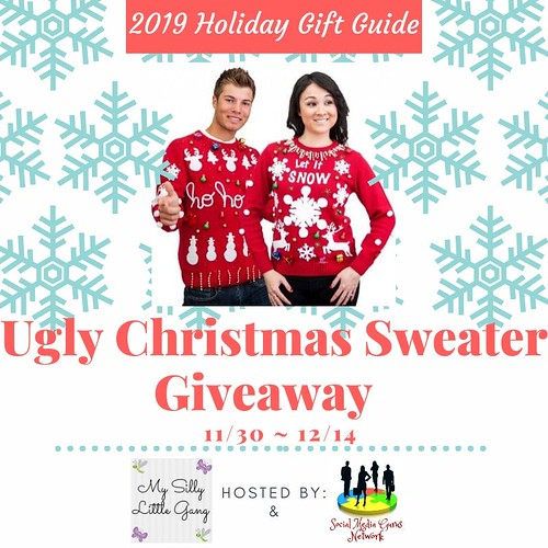 2019 Ugly Christmas Sweater Giveaway ~ Ends 12/14 #MySillyLittleGang @SMGurusNetwork