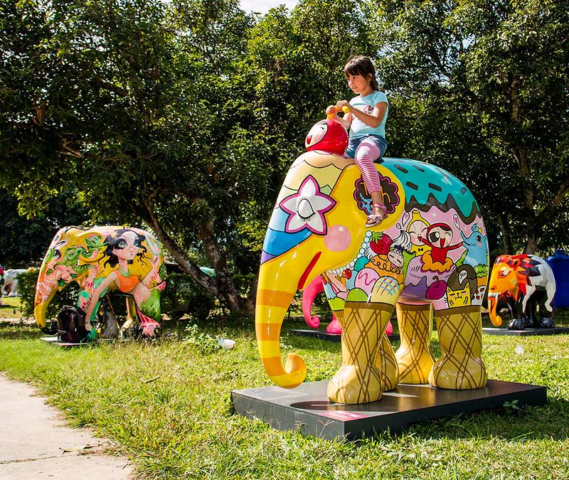 Elephant Parade Land (Chiang Mai, Thailand) – Brochures, Info, Price & Travellers Reviews