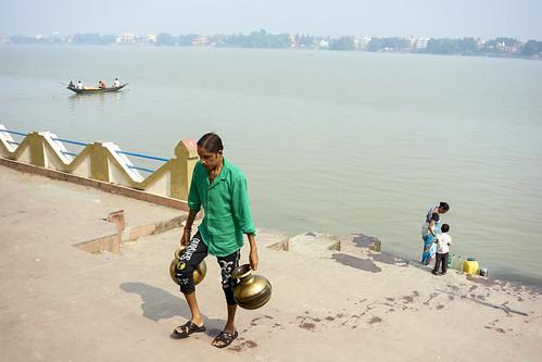 Ganges Water ( 'Ganga Jal' in Bengali )