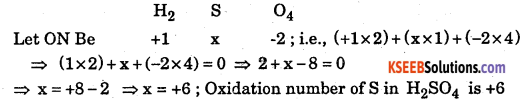 1st PUC Chemistry Question Bank Chapter 8 Redox Reactions - 122