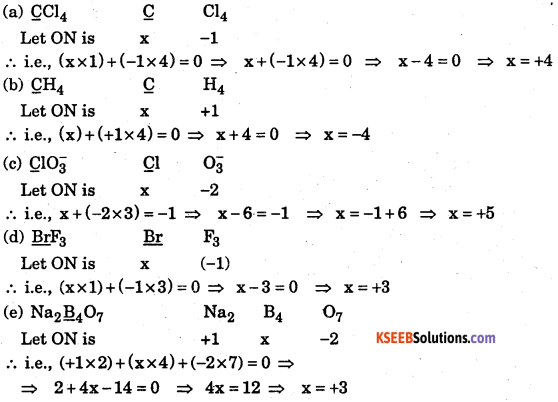 1st PUC Chemistry Question Bank Chapter 8 Redox Reactions - 123