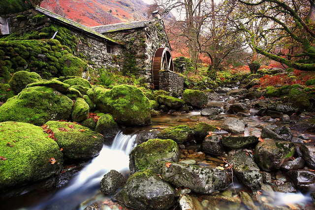 combe gill water mill