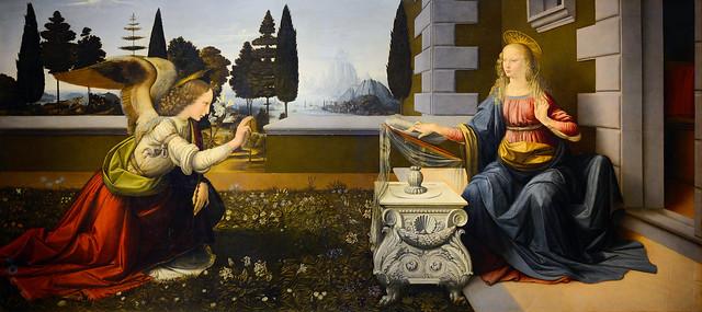 Annunciation_(Leonardo)_(cropped)