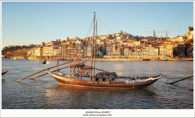 Atardecer en Oporto. Portugal / Sunset in Porto. Portugal