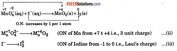 1st PUC Chemistry Question Bank Chapter 8 Redox Reactions - 106
