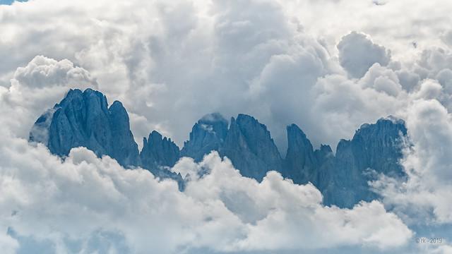 Cloud Symphony in Blue...