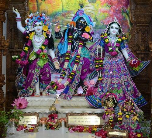 ISKCON GEV Wada Deity Darshan 30 Nov 2019