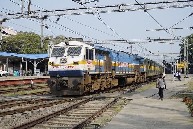 IR 40240 Ernakulam Town station
