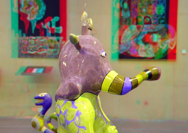 Elefant by Niki de Saint Phalle 3D