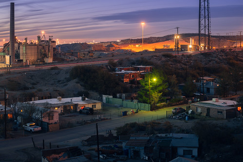 2019 asarco america bluehour borderlands elpaso eveninglight fall fronterastudio industrial kalavera landscape longexposure mining night november residential smeltertown sociallandscape southern southwest texas twilight vernacular westtexas unitedstatesofamerica