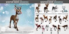SEmotion Libellune Winter Deer Animesh (Companion version)