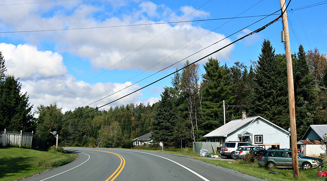on the road - vermont