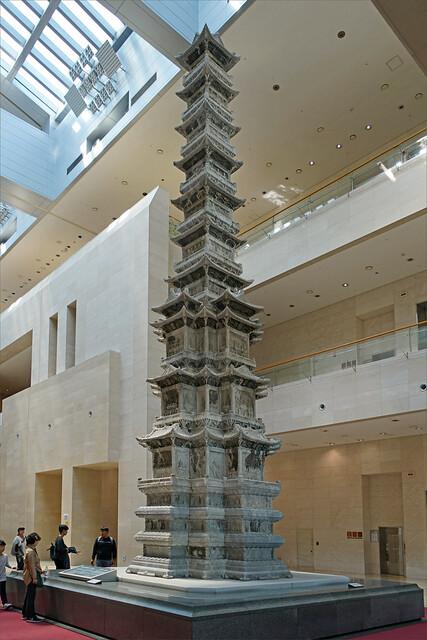 Pagode à dix niveaux (musée national de Corée, Séoul)