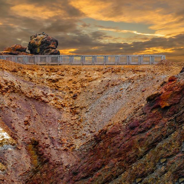 Paris Mountain copper mine