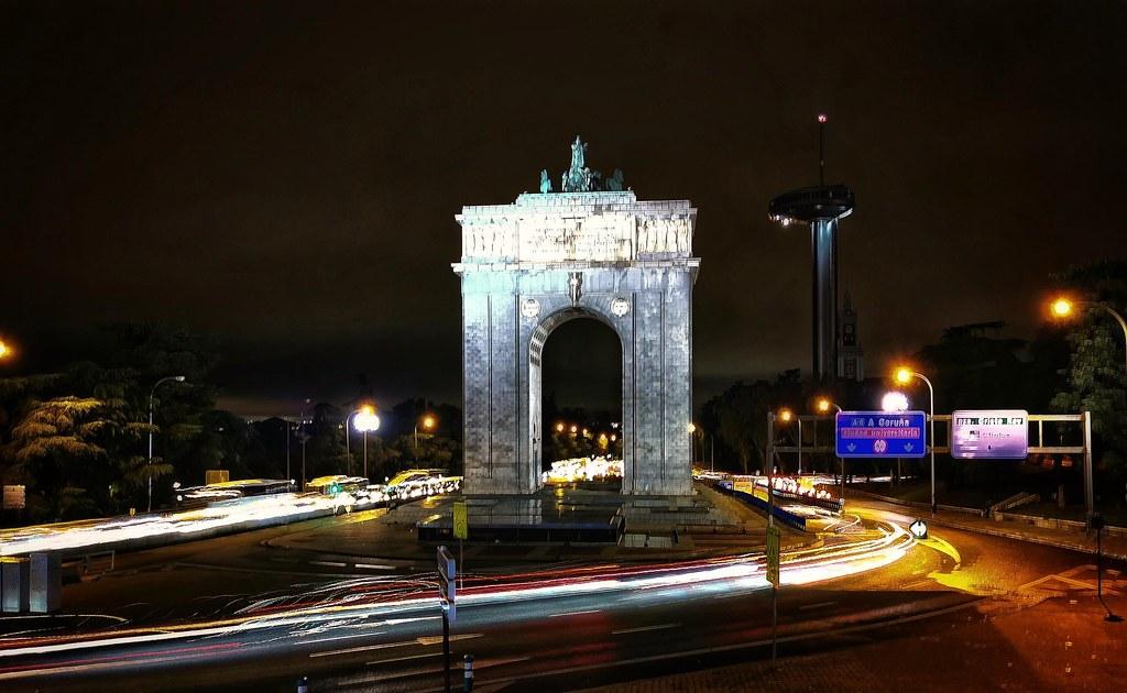 Arco de la Concordia. Madrid.