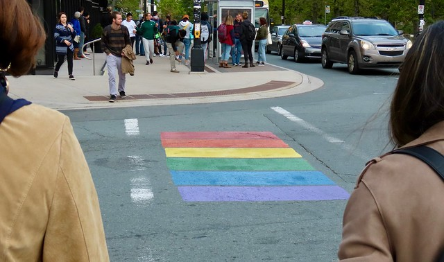 Halifax Rainbow Crosswalk
