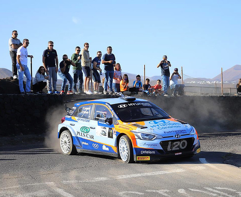 1º Sección Rallye ORVECAME Isla de Lanzarote 2019