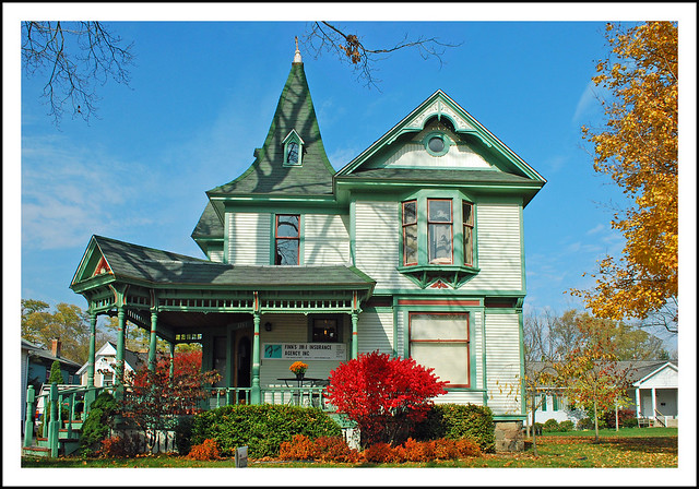 The Old Green House in Dexter, Michigan