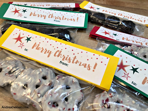 simple teacher gifts with free printable tags