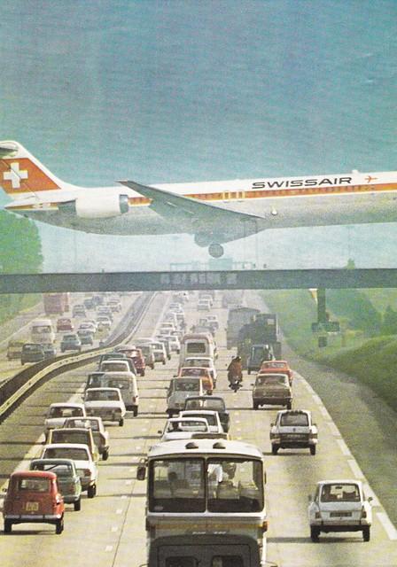 Postcard Aéroport de Roissy en France 1975a