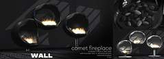 Fourth Wall / Comet Fireplace / FaMESHed